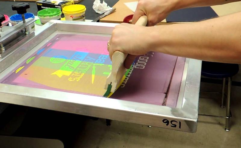 silkscreen sérigraphie