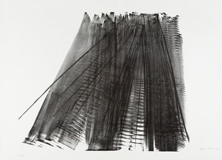 Hans Hartung estampe lithographie mourlot