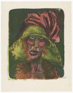 Otto Dix lithographie estampe valeur œuvre d'art