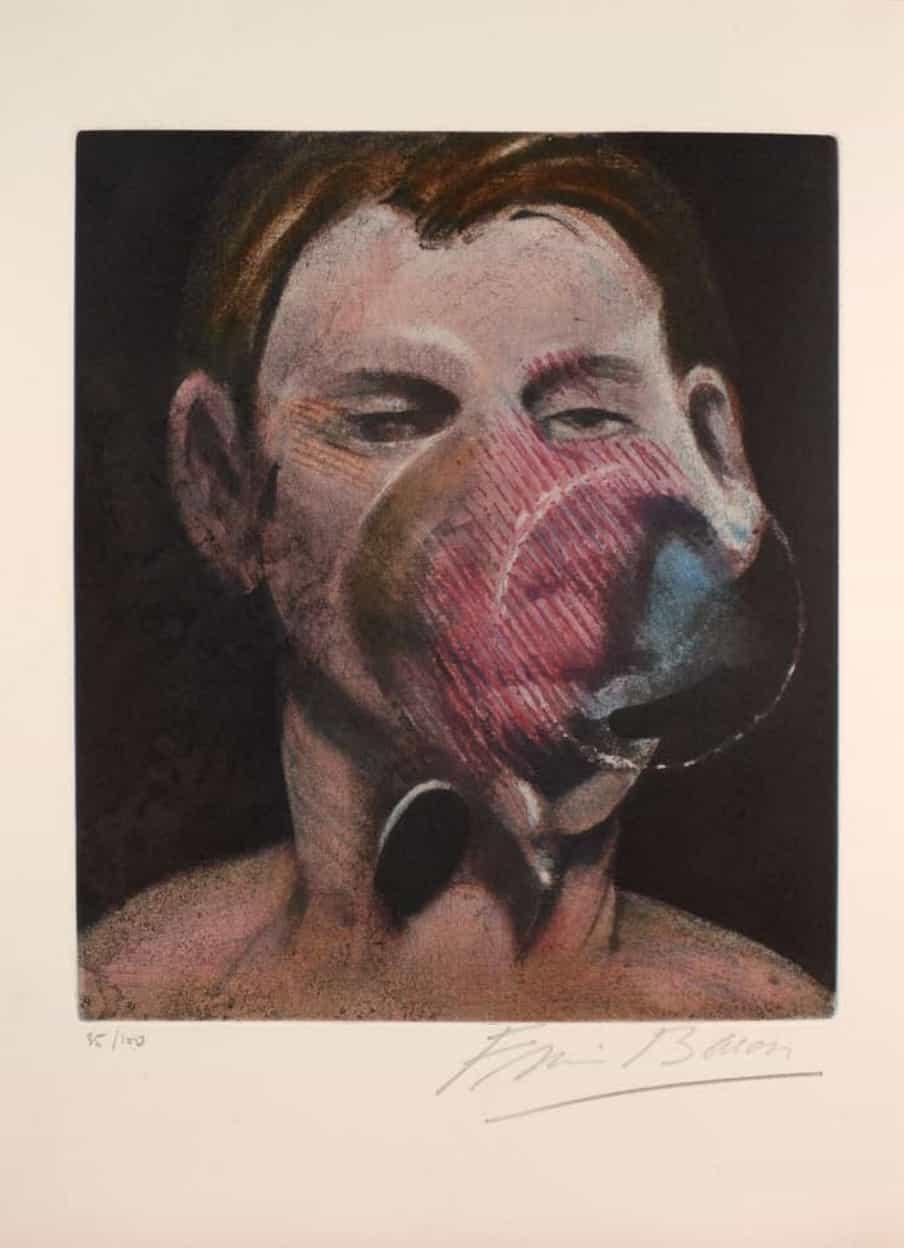 Francis Bacon gravure eau-forte lithographie estampe