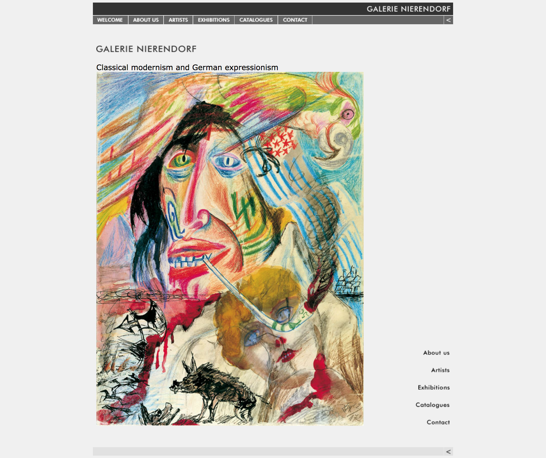 galerie expressionnisme estampe lithographie gravure
