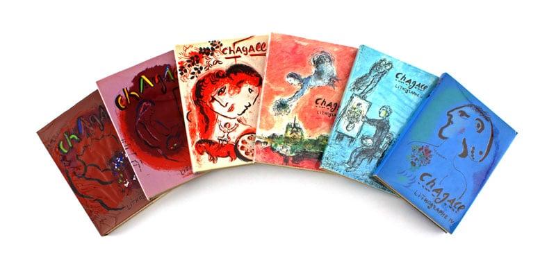 Chagall lithographe Mourlot André Sauret