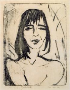 Otto Mueller, Ophelia,Lithographie Karsch 27/II/III, 26x21 cm, 1916, 45000€