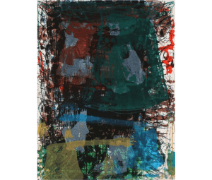 Tal R, 1998, lithographie, 35/200, 44 x 57 cm.