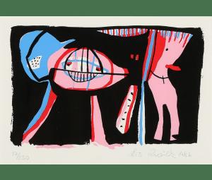 Lis Zwick, 1982, 15 x 21, éd. de 250.