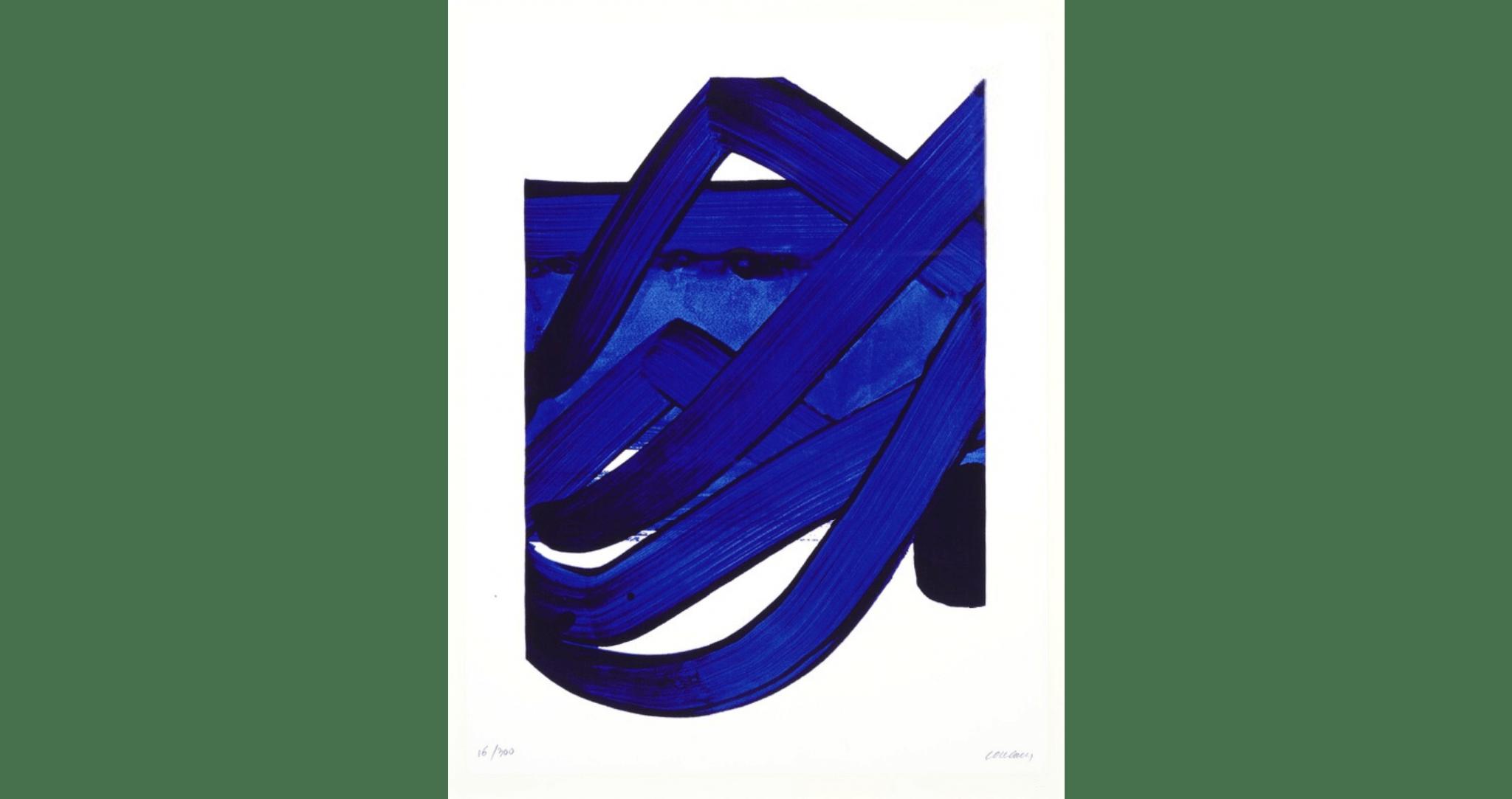 """""""Sérigraphie no. 18"""", 1989. 89×68,5 cm, éd. de 300. MAP : 4000€"""