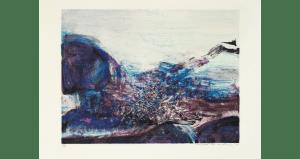 Untitled, lithographie sur Arches. 54×76 cm, éd. de 150.