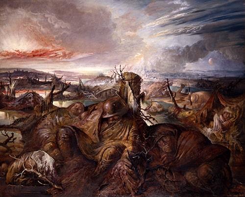 Flandern, les Flandres, Otto Dix