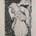 La puce, gravure, 1933