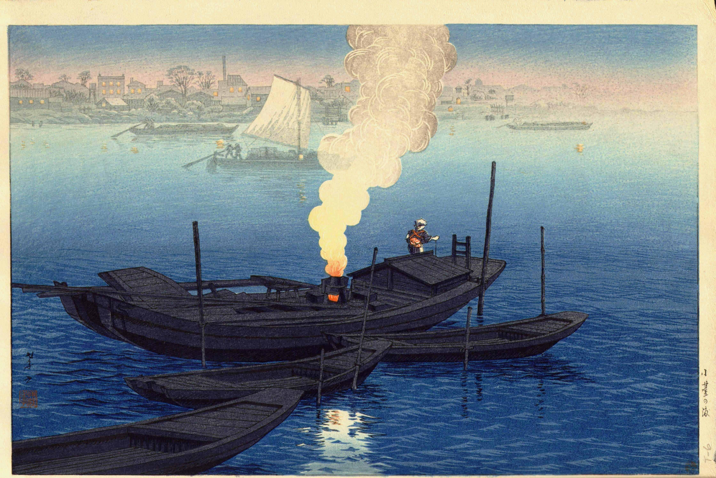 Ito Takashi – Bac à Odai (1932, ré-édition vers 1950)